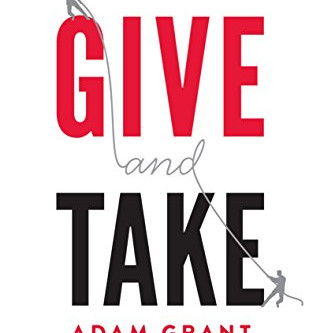October 2019 Book Club - Give & Take, Adam Grant