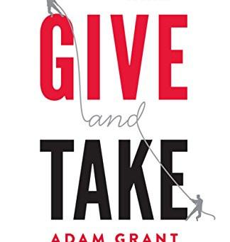 October 2019 Book Club - Give & Take, Adam Grant