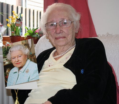 Daisy's 100th birthday