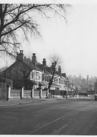 Dogpool Lane Bridge 28/2/1954 by D. J. Norton http://www.photobydjnorton.com/