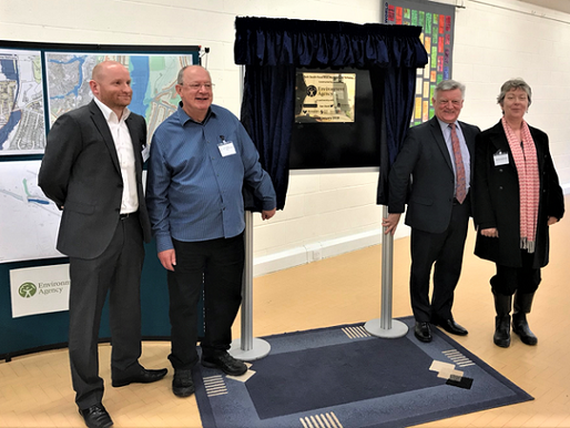 Selly Park South Flood Risk Management Scheme - Official opening event