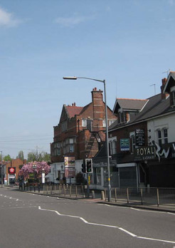 Restaurant and tavern on Pershore Road