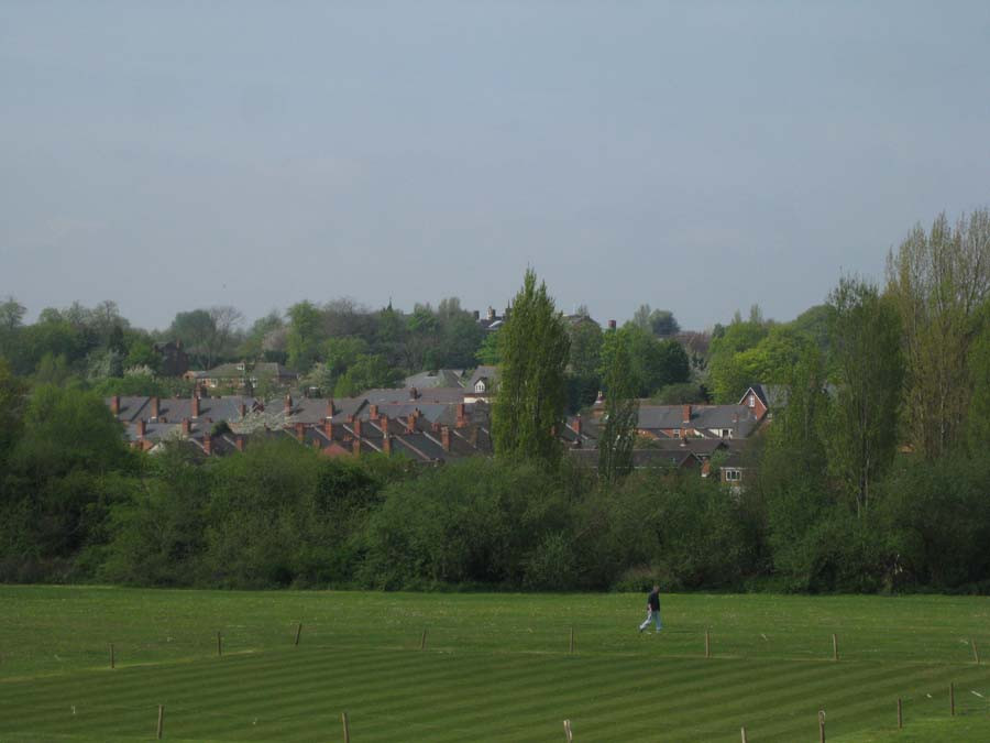 View over Selly Park from the east