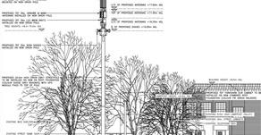 20m 5G Mast on Dogpool Lane
