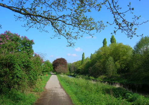 The River Rea and Rea Valley Cycle Route