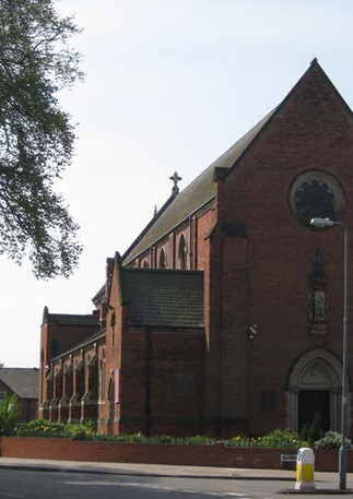 St Edward's Roman Catholic Church on Raddleburn Road
