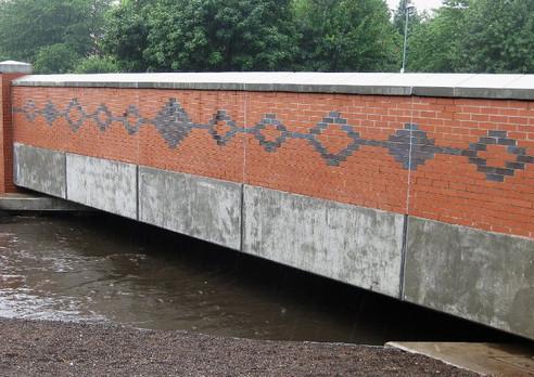 The new Dogpool Lane Bridge