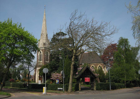 St Stephen's Church on Selly Hill