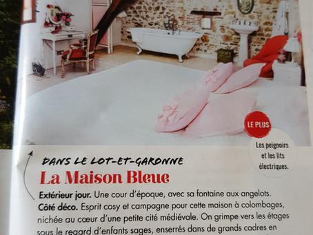 Retrouvez La Maison Bleue dans le magazine Avantages du mois de Mai 🤩