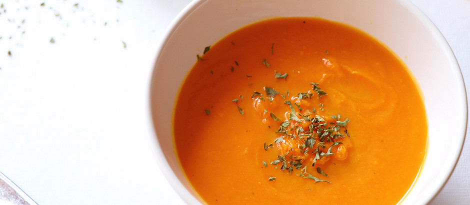 Autumn Carrot Ginger Soup