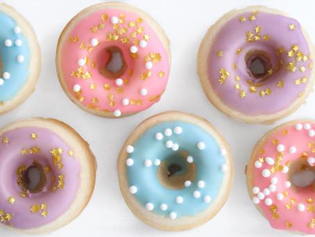 Mini Mermaid Donuts