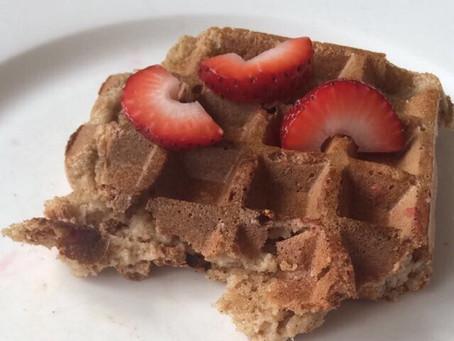 Nutritious Oat Waffles
