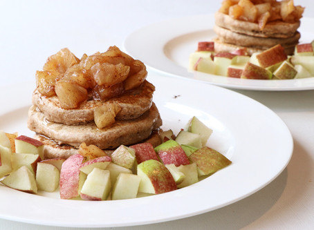 Rustic Apple Pancakes