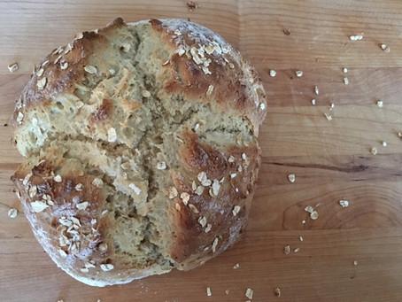 Whole Wheat Oat Quick Bread
