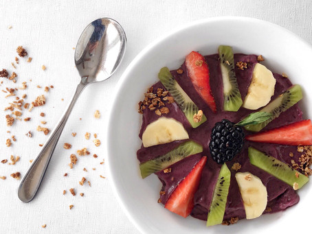 Blackberry Fusion Smoothie Bowl