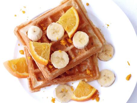 Orange Infused Waffles