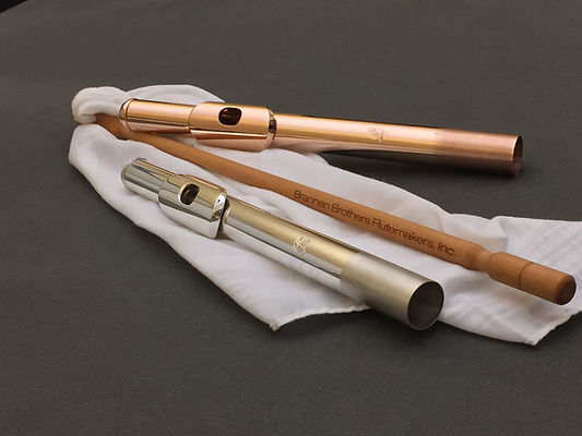Flute Headjoints and Cleaning Rod