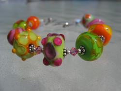 becky bracelet green-orange 032706 002