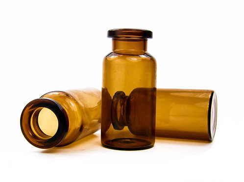 10mL Vial - 24mm x 50mm - Amber
