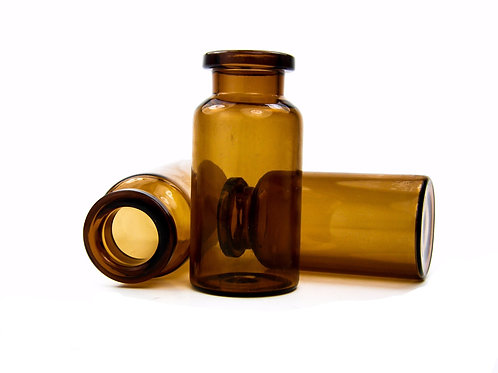 10mL Vial - 22mm x 45mm -Amber