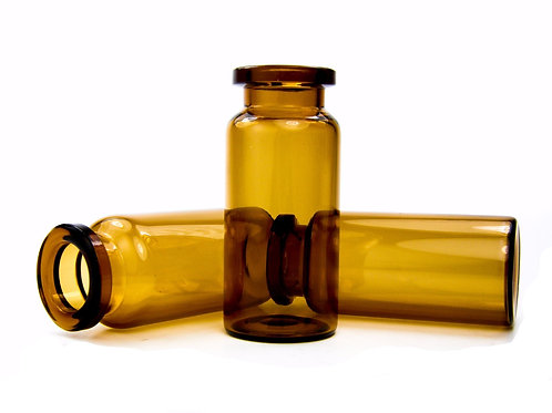 10mL Vial - 22mm x 50mm -Amber
