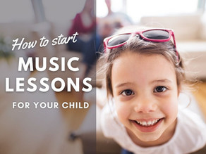 How to Start Music Lessons for Your Child