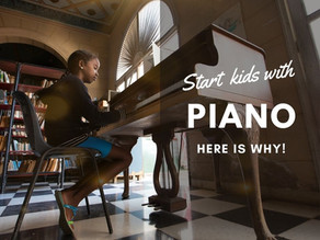 The piano is a great instrument for kids to start learning, here's why!