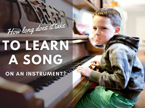 How Long Does it Take to Learn a Song on an Instrument?