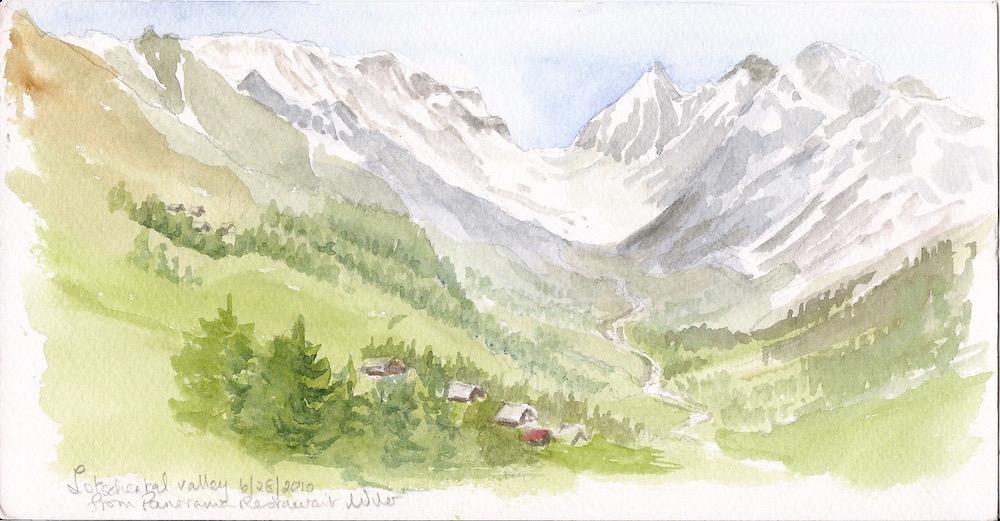 Lotschental valley Switzerland