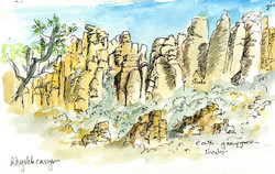 Arizona Rhyolite Canyon