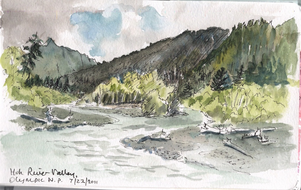 Hoh river, ONP