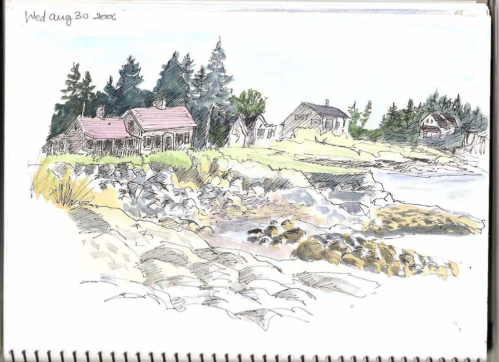Harrington Cove, Grand Manaan