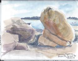Swan's Island Irish pt rocks ME