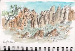 Chirichua mountains, Arizona copy