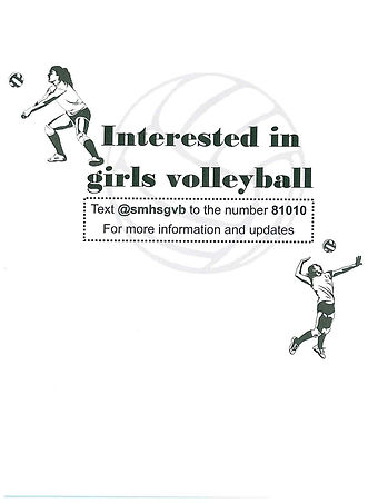 Remind for volleyball__AND__Fundraiser F