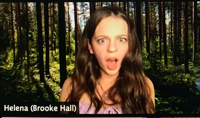 Brooke Hall in A Midsummer Night's Dream produced by Florida Shakespeare Theater
