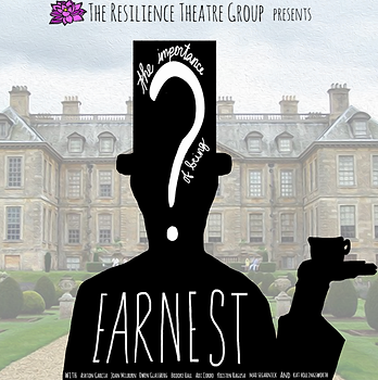 Brooke Hall in The Importance of Being Earnest produced by The Resilience Theatre Group