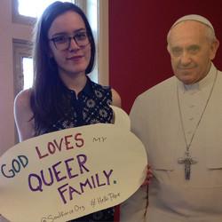 God loves Micaela Marini Higgs's que