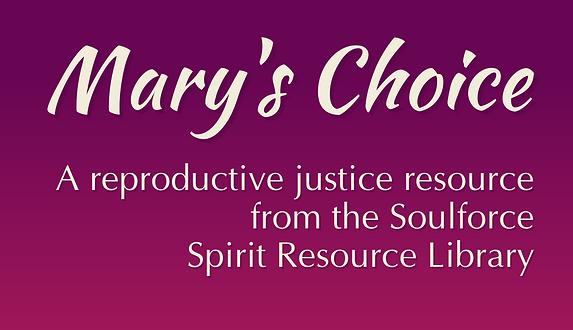 Mary Had a Choice_ A new model for bibli