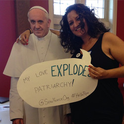 Sufia gets it; Pope, do you?