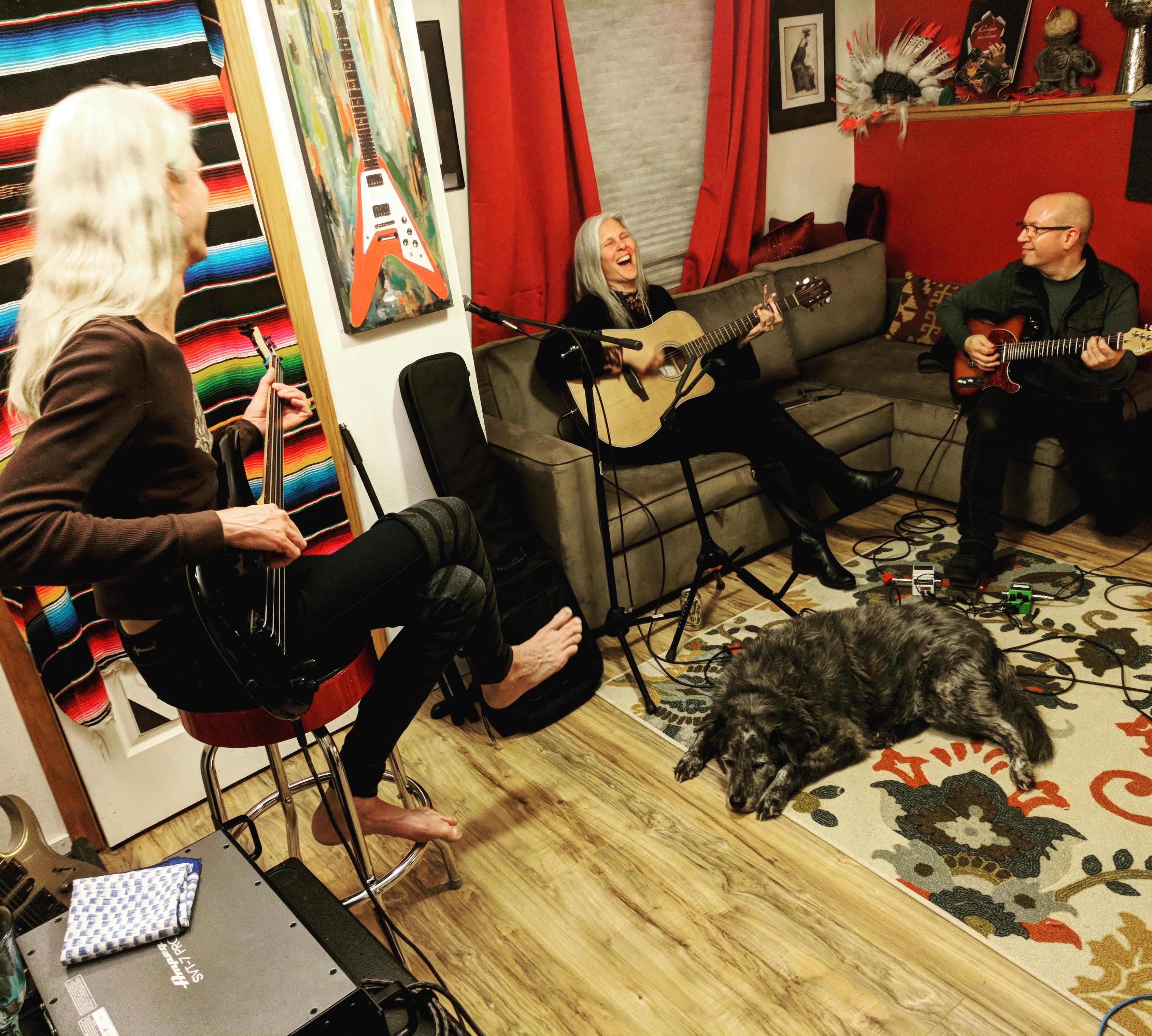 Evening Studio Recording