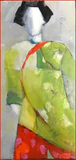 The Green Kimono -- Doris Peltzman