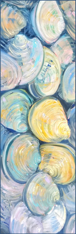 Pastel Clams - Linda Ramsay