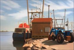 Blue Tractor - Eric van der Vlugt