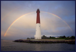 Rainbow Over the Lighthouse