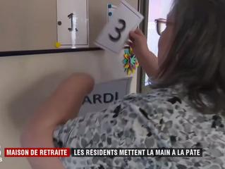 Maisons de retraite: quand les résidents mettent la main à la pâte