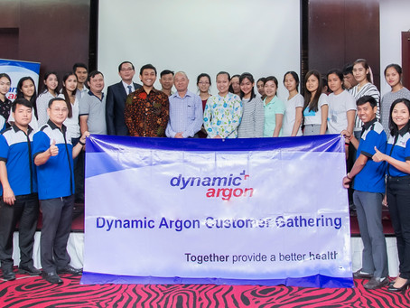 Customer Gathering Dynamic Argon Cambodia with HerbaKOF