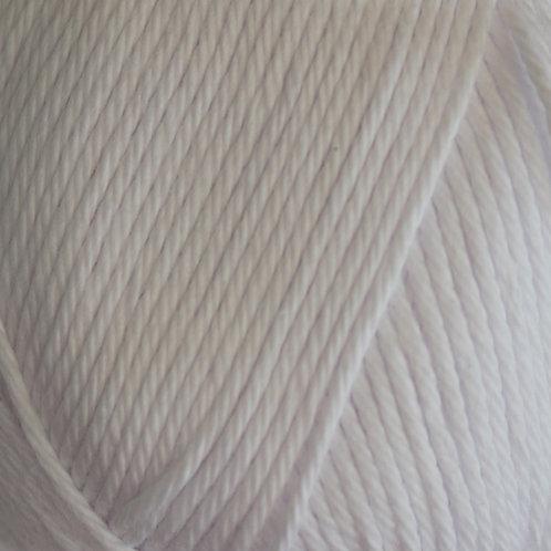 James C Brett It's 100% Pure Cotton DK White ICO4