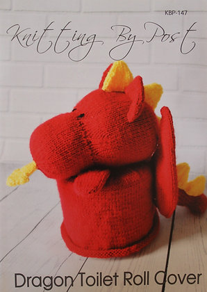 Dragon Toilet Roll Cover Knitting By Post Pattern KBP-147