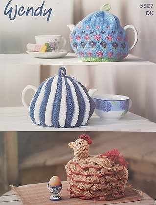5927 Tea Cosies in Wendy Mode DK
